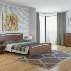 Кровать Бали 1-М-R с ПМ