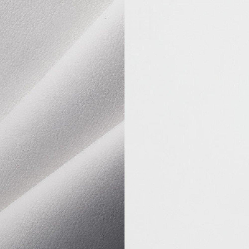 ЛДСП белый + экокожа белый