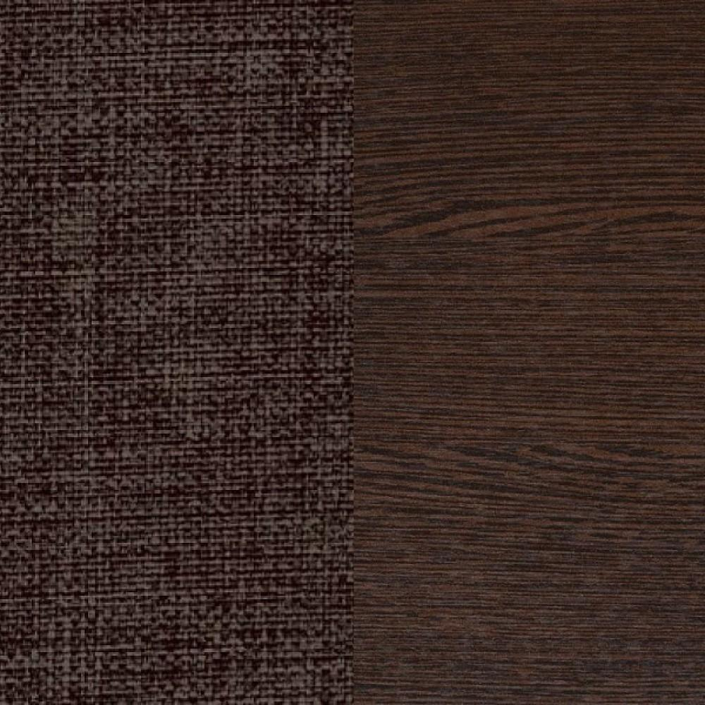 ЛДСП венге + ткань Savana Chocolate