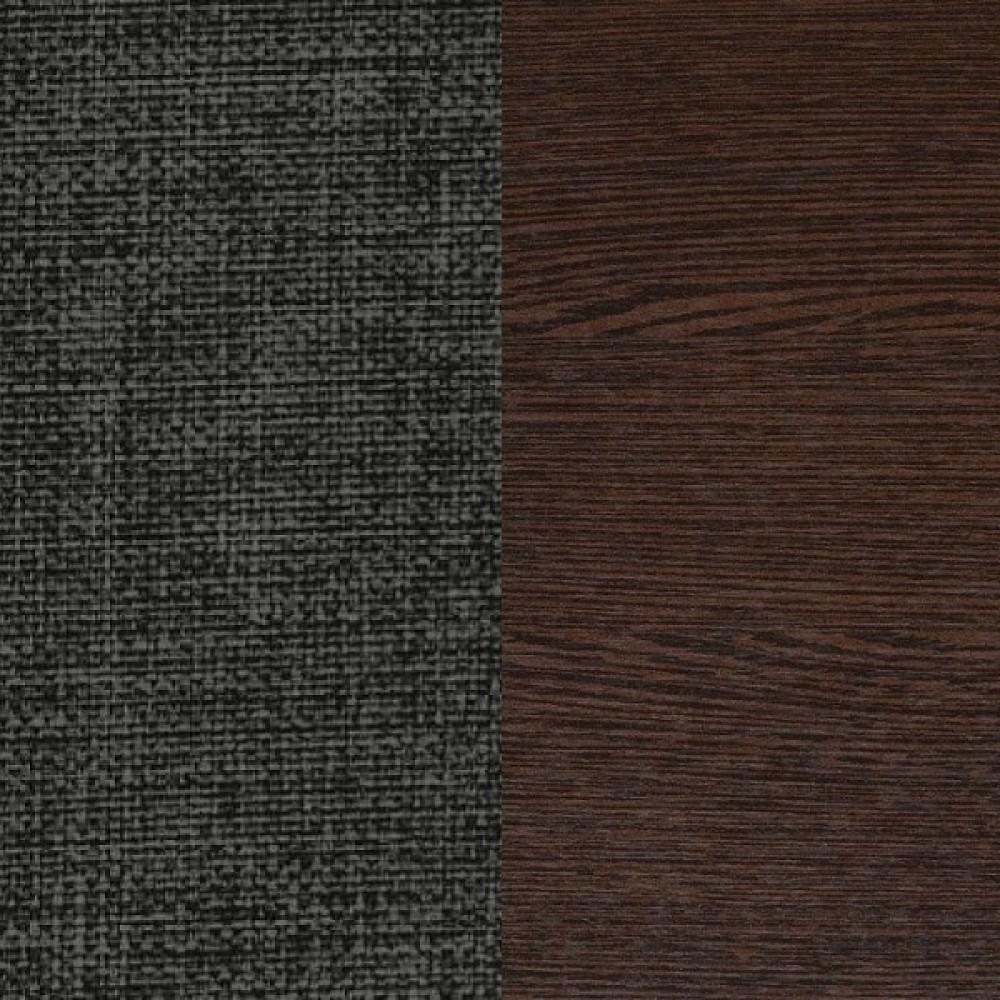 ЛДСП венге + ткань Savana Grey