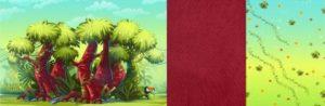 Forest Джунгли/Forest Лианы/Forest Красный