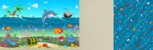 Forest Подводный мир/Forest Море/Forest Светло-бежевый