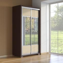 Шкаф 2х дв Orma Soft 2 (2 зеркала)