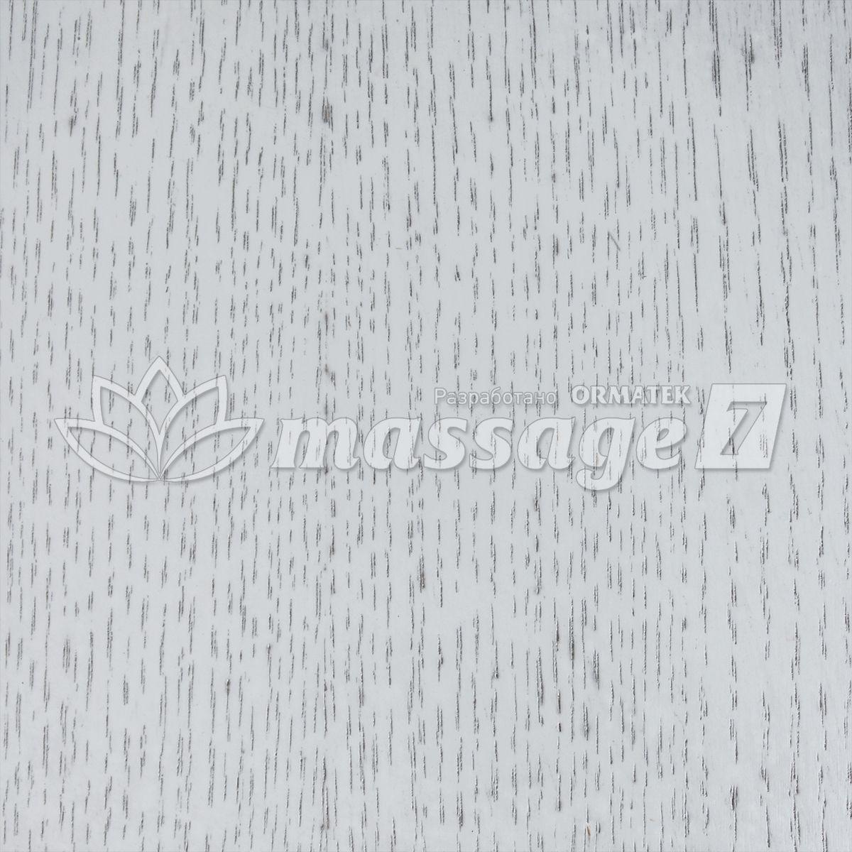 Белая эмальй с серебристой патиной