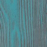 Голубая эмаль с бежево-коричневой патиной