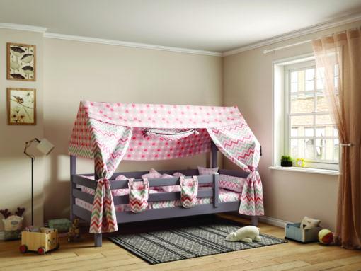 Кровать с надстройкой «Соня» — один из примеров идеального сочетания практичности, оригинальности и долговечности. Цветовое исполнение подходит сразу для нескольких стилей. Мебель для детской создается из безопасных материалов с отличной износостойкостью.